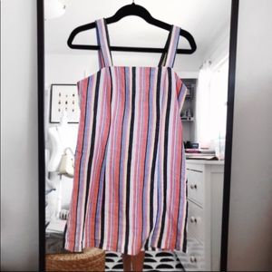 Forever 21 Striped Fitted Mini Dress